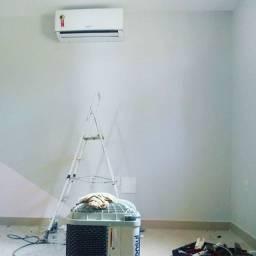 Instalação e manutenção em ar condicionado Split Sistem