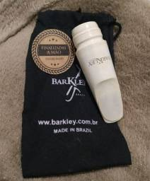 Boquilha Barkley Vintage Zz nº5 Branca Ébano Eco Line Sax Alto!