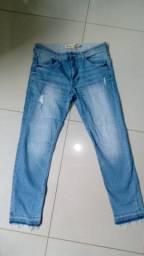 Calças masculinas polo jeans