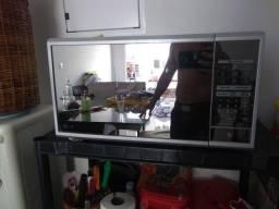 Microondas espelhado LG 30 litros