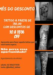 Promoção de tattoo