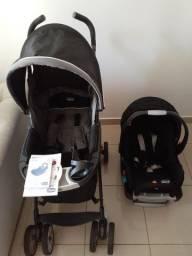 Carrinho de bebê Nuevo e Bebê Conforto Key-Fit Chicco Anthracite