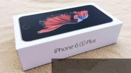 Iphone 6s Plus 128GB, Original Lacrado/ Bateria 100%(BRINDES película de vidro e capa)