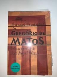 Livro Poemas Escolhido de Gregório de Matos