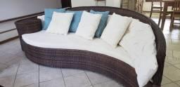 Sofa fibra sintética