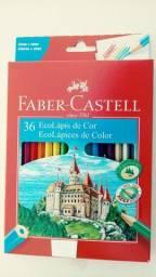 Lápis de cor faber-castell ecolápis
