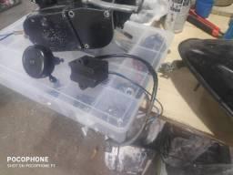 Mecânico de bike e bike motorizada