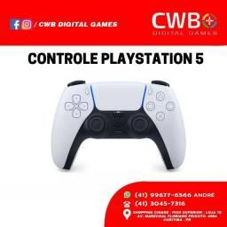 Controle Playstation 5, novo lacrado e com garantia. Loja física