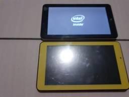 Tablet da marca DL branco é preto funcionando legalzinho , amarelo tem que trocar a tela