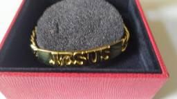 Pulseira ouro 18k com 57,9 gramas