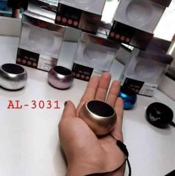 Mini Caixa De Som Bluetooth Tws Metal Amplificada Speaker