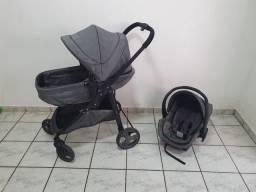 Carrinho de bebê galzerano + Moisés +bebê conforto