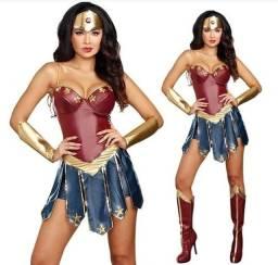 Fantasia Mulher Maravilha Liga da Justiça