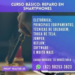 CURSO DE REPARO EM CELULAR (Iphone, Samsung, Xiaomi, etc)