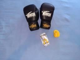 Luva Oz12+ bandagem + protetor Adulto R$80