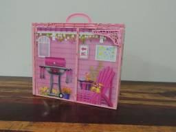 Casinha da Barbie Maleta