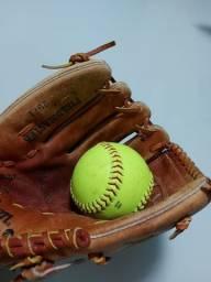 Luva de Baseball Wilson + Bola de baseball