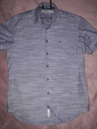 Camisa manga curta Hangar 33 slim fit