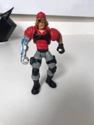 Brinquedo homem com braço robótico