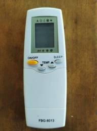Controle remoto FBG-8013 ar condicionado Carrier