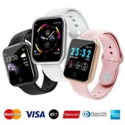 Relógio Smartwatch Inteligente previsão do tempo pague cartões