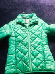 Jaqueta nylon verde