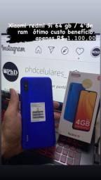 Xiaomi Redmi 9I 64gb e 128gb - Pronta entrega;