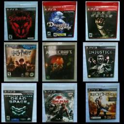 V/T - Jogos de PS3 - Detalhes na Descrição.