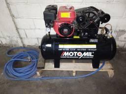Compressor de ar movido a gasolina