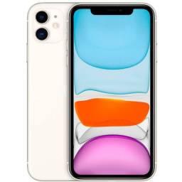 IPhone 11 64GB (Lacrado) Branco Desbloqueado iOS 4G Wi-Fi Câmera 12MP