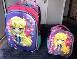mochila escolar polly pocket