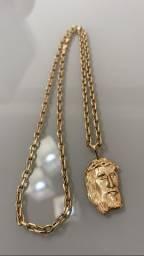 Cordão de ouro Cartier 18k