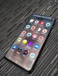 Celular Samsung Galaxy S10 com Caixa e Nota Fiscal (Funcionando Perfeitamente)