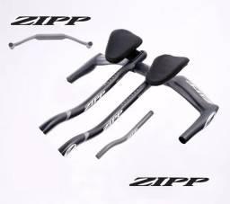 Guidão + Clip Zipp Vuka Bull Carbono Triatlhon / Muito Leve e Super Resistente