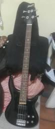 Baixo Memphis by tagima 4 cordas ativo com bag