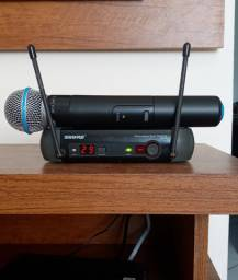 Microfone Sem Fio Shure Pgx4 Beta 58 (original)