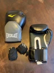 Luvas de Boxe Everlast Pro Style - 14 OZ - Adulto