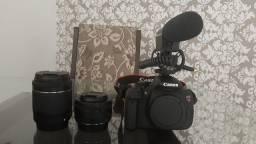 Canon T5i (Pouco Usada)
