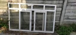 Duas janelas com vidro 2m