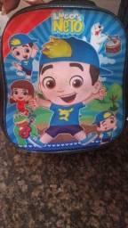 Vendo mochila lucas neto com lancheira