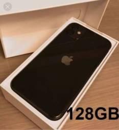 IPHONE 11 128GB (NOVO COM 12 MESES DE GARANTIA)