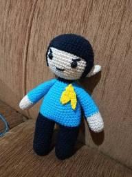 Amigurumi Spock Star Trek!