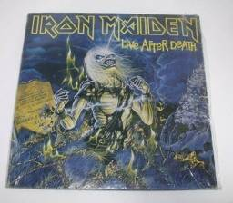 Lp do Iron Maiden - Live After Death - Lp Duplo!