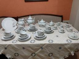 aparelho de chá/café 53 peças Porcelana Schmidt!!
