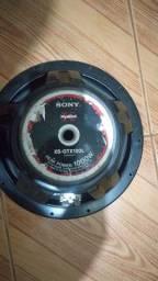 Sony xplod  1000w  12 polegadas semi novo
