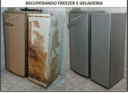Pintura de geladeira