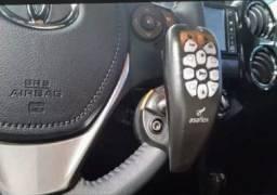 Adaptação no volante para deficiente físico