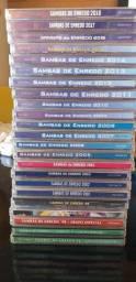 Coleção de CD de escola de samba.