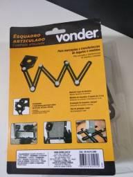 Esqudro articulado 6 seção Vonder