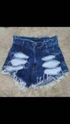 Shorts jeans otima qualidade atacado